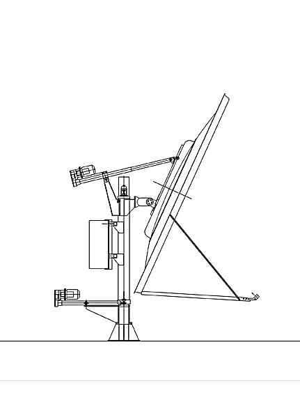 Земная станция спутниковой связи 6,1м.